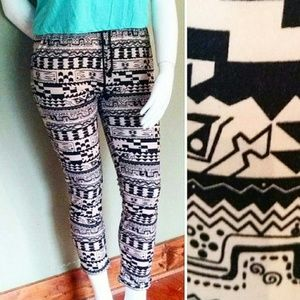 Urban Outfitters, L, Tribal Pocket Jogger Pants